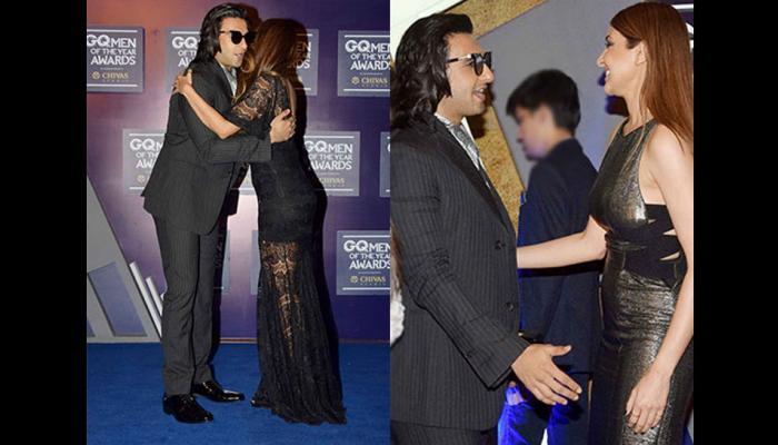 GQ Awards: जब अनुष्का शर्मा मेट रणवीर सिंह, देखें PICS