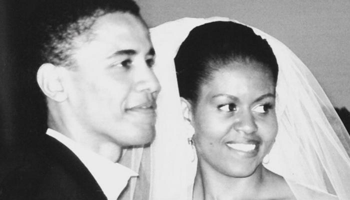 मिशेल ने शादी की 25वीं सालगिरह पर बराक ओबामा को इस अंदाज में कहा 'I Love You'