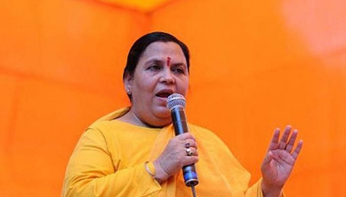 उमा भारती बोलीं, गांधी जी की हत्या से केवल कांग्रेस को फायदा मिला