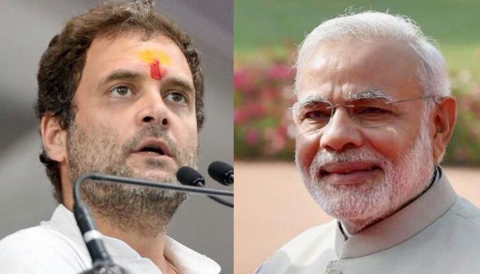 राहुल गांधी की पीएम नरेंद्र मोदी को 'सलाह', डोनाल्ड ट्रंप को गले लगाइए