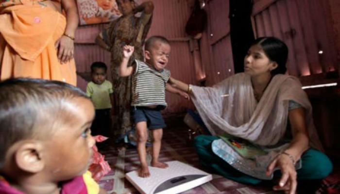 भारत में कुपोषण का शिकार हैं 21 प्रतिशत बच्चे