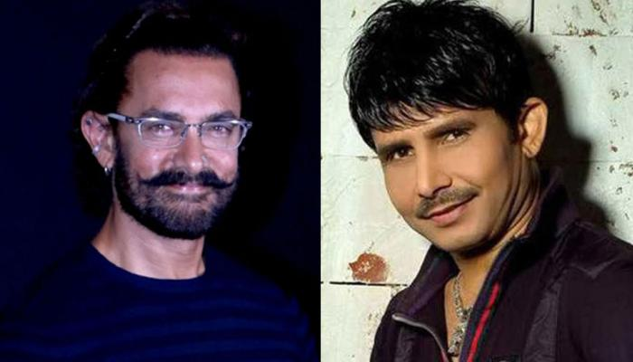 KRK का ट्विटर अकाउंट हुआ सस्पेंड, आमिर खान पर ऐसे निकाली भड़ास
