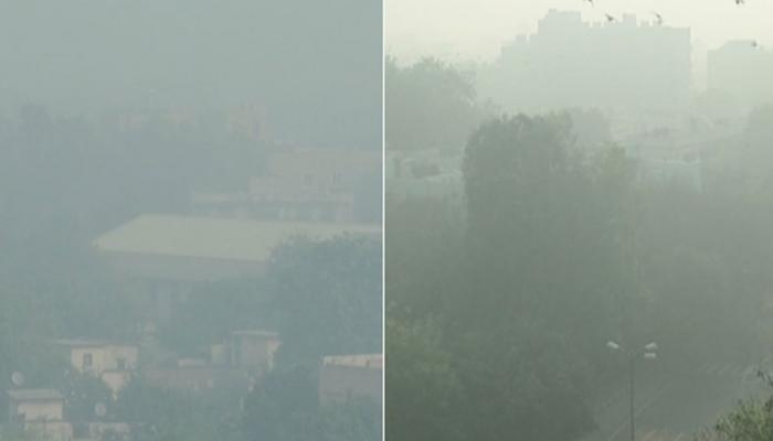 दिवाली : प्रदूषण से दिल्ली का 'फूला दम', सुप्रीम कोर्ट के बैन के बावजूद जमकर हुई आतिशबाजी