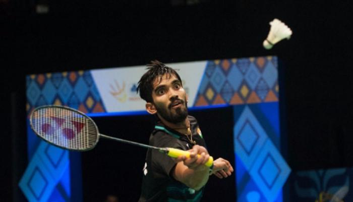 बैडमिंटन : श्रीकांत डेनमार्क ओपन के सेमीफाइनल में, प्रणॉय बाहर