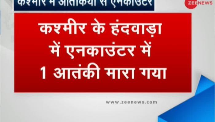 1 terrorist killed in encounter in J&K's Handwara