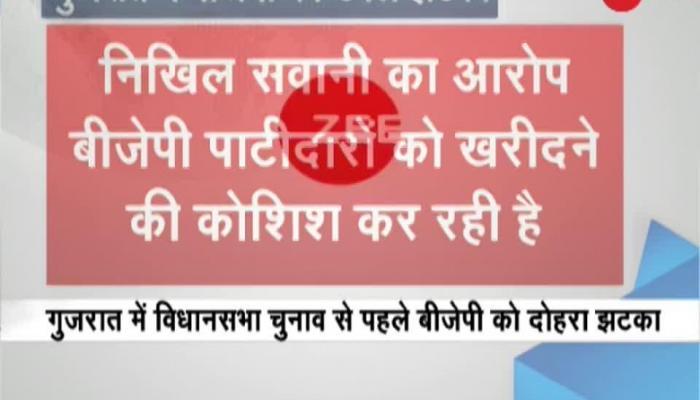 Gujarat polls: Patidar leader Nikhil Sawani quits BJP