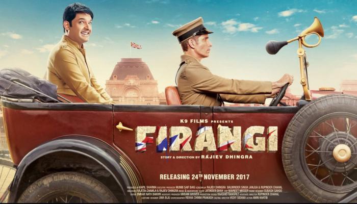 कपिल शर्मा की 'फिरंगी' का नया पोस्टर हुआ रिलीज, इस दिन आएगा ट्रेलर
