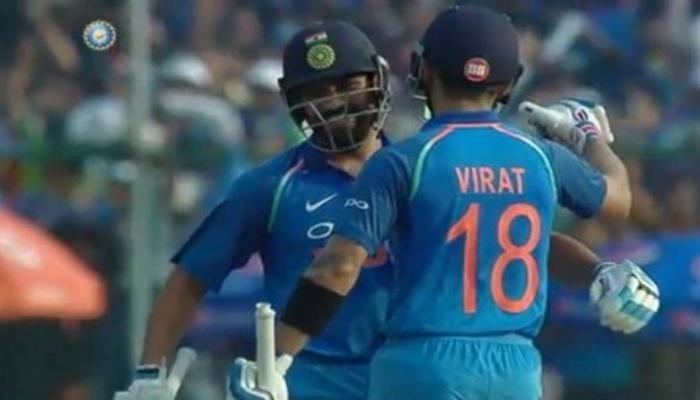 VIDEO : मैदान पर दिखा रोहित-विराट का 'स्पेशल प्यार', BCCI ने दिया यह नाम