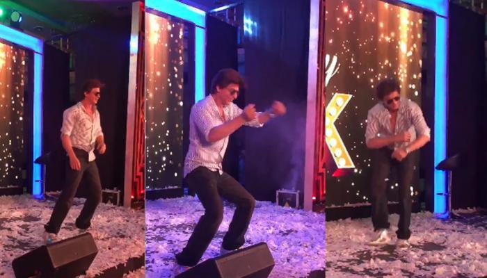 शाहरुख खान ने स्टेज पर किया ऐसा डांस, वायरल हो गया VIDEO