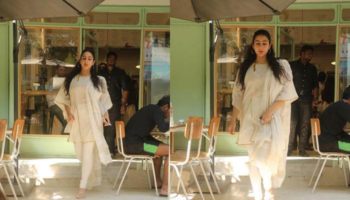 PICS: अलग अंदाज में नजर आईं सारा अली खान, आप भी देखिए इनका नया लुक