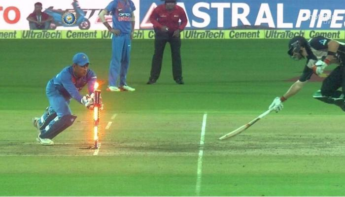 VIDEO : एक बार फिर दिखा धोनी का जलवा, शानदार रन आउट कर जिताया मैच