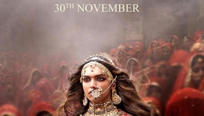 'पद्मावती' का नया पोस्टर रिलीज, निडर राजपूतानी के लुक में नजर आईं दीपिका पादुकोण