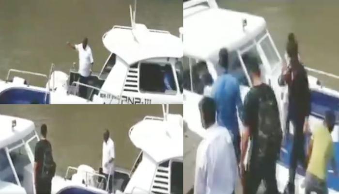 समुद्र किनारे सरेआम शाहरुख खान पर चिल्लाए एमएलसी, वायरल हो रहा VIDEO