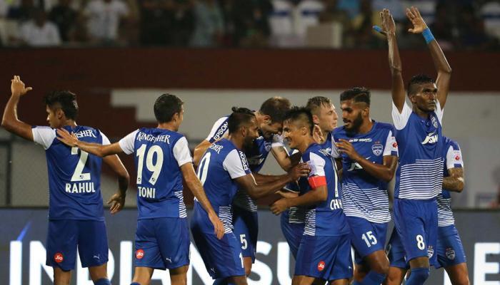 ISL-4: पहली बार खेल रही बेंगलुरु ने मुम्बई को 2-0 से हराया