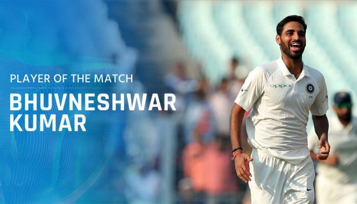 IND vs SL: 'मैन ऑफ द मैच' भुवनेश्वर कुमार ने कहा, मिल रहा है मेरी कड़ी मेहनत का फल