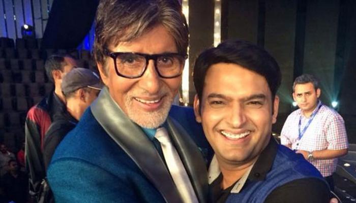 कपिल शर्मा ने 'फिरंगी' में आवाज देने के लिए अमिताभ बच्चन का जताया आभार