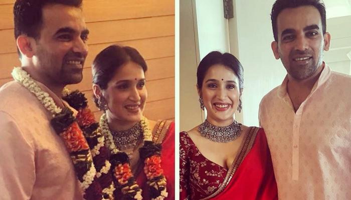 हो गई जहीर खान और सागरिका घाटगे की शादी, यहां देखें PHOTOS