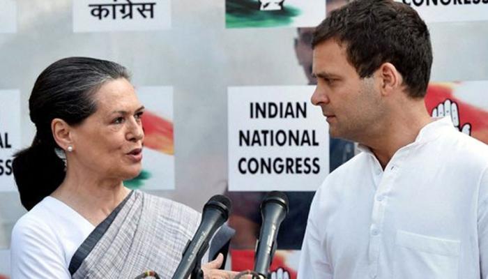 राहुल गांधी के नामांकन में नहीं पहुंचीं मां सोनिया गांधी, क्या यह है कारण!