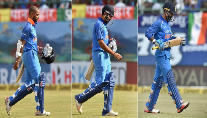 cricket indian team scored their third lowest score in odi on home ground