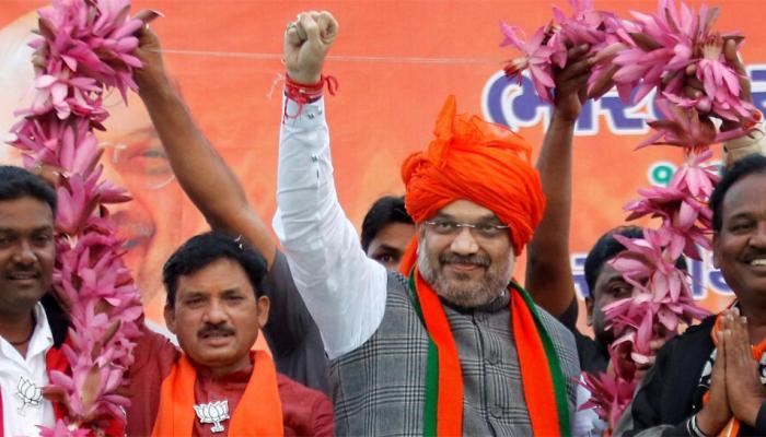 गुजरात चुनाव: अमित शाह का आरोप, अपनी हार देखकर 'अल्पसंख्यक तुष्टीकरण की राजनीति' करने लगी है कांग्रेस