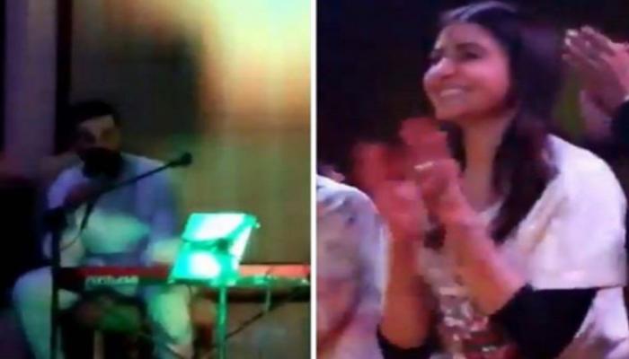 VIDEO: शादी में विराट ने अनुष्का के लिए गाया यह गाना, सुनकर हो गईं खुश
