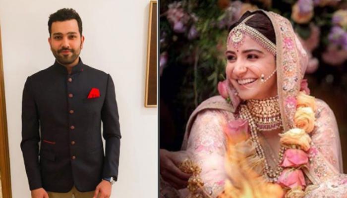 शादी के बाद रोहित शर्मा ने अनुष्का को दी यह खास नसीहत