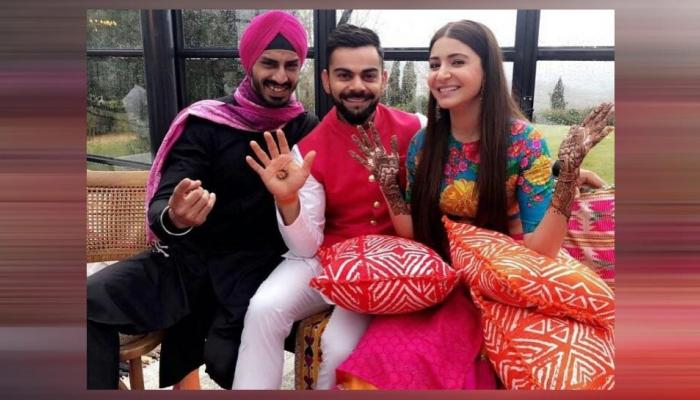 virat anuska's reception will held in taj diplomatic enclave on 21st december