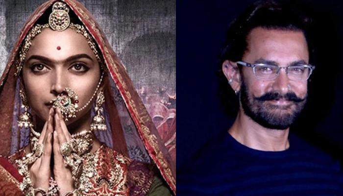 'पद्मावती' विवाद पर आमिर खान ने कहा- सबको विरोध का हक है लेकिन...