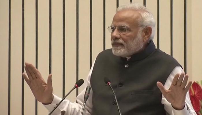 FICCI पर बरसे पीएम मोदी, UPA सरकार में कुछ कारोबारियों को लोन बंटा तो आप कहां थे?