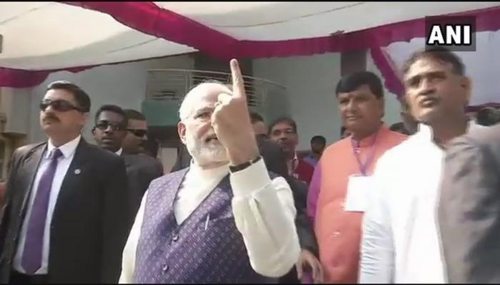Gujarat elections 2017: Amit Shah, Hardik Patel, Anandiben Patel cast vote