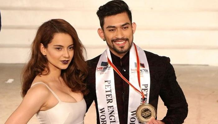 jitesh sing from lucknow won the tittle of mr. india 2017