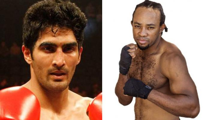विजेंदर सिंह को अफ्रीकी मुक्केबाज ने दी चुनौती, कहा- तोड़ के रख दूंगा उन्हें