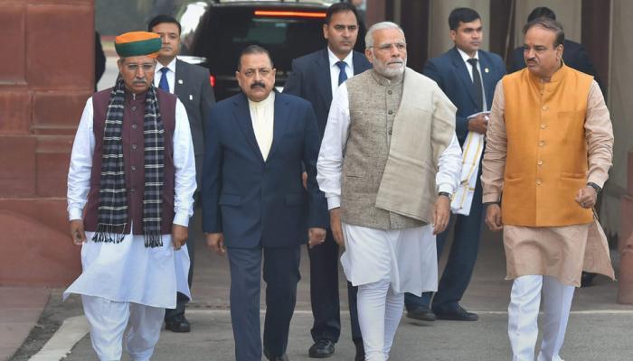 संसद में कांग्रेस को मिलेगा करारा जवाब, NDA के नेताओं संग पीएम मोदी ने बनाया 'प्लान'