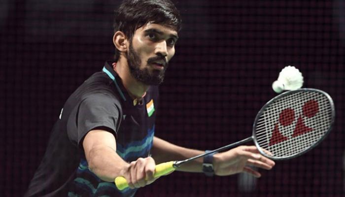 दुबई बैडमिंटन सुपरसीरीज में श्रीकांत को मिली लगातार तीसरी हार
