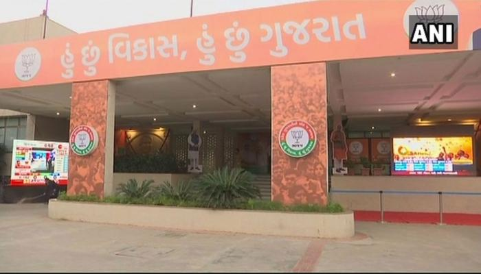 gujarat election results counting of votes for all the 182 assembly seats of the state to begin at 8 AM