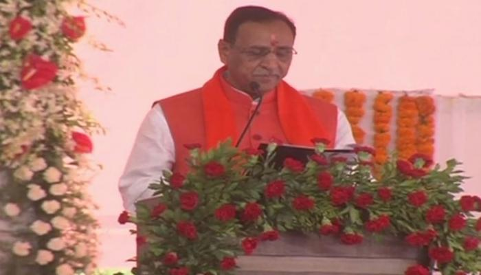 Watch agenda for Vijay Rupani's oath taking ceremony