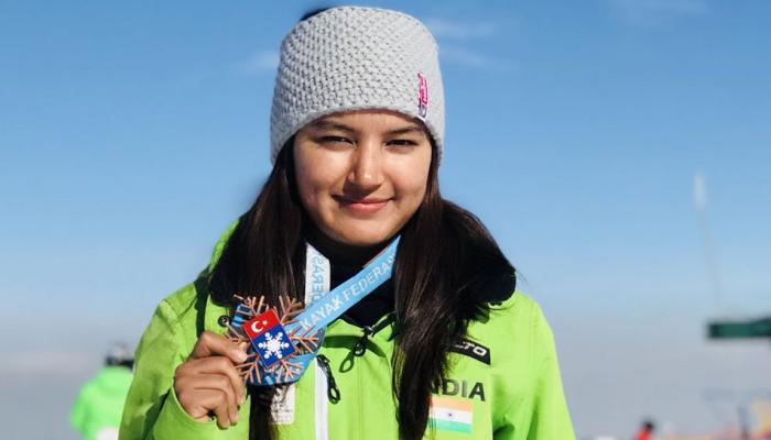 Aanchal Thakur gives first medal to the country in skiing