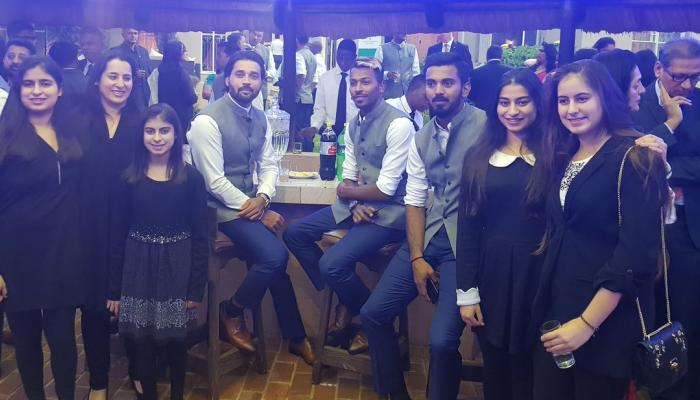 IND vs SA : before second test match Virat and companey chilled like this