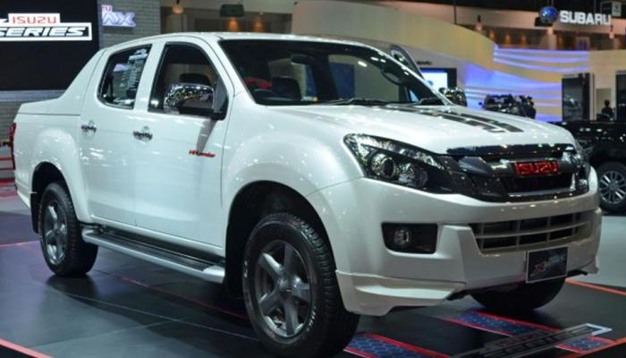 Isuzu Launches 2018 D-Max V-Cross In India