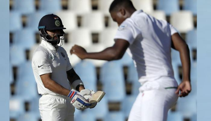 Lungi Ngidi gets shy and emotional after trapping Virat Kohli