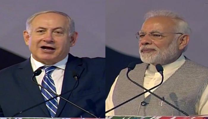LIVE : नेतन्याहू बोले- जय हिंद! जय भारत! जय इजराइल! | PM मोदी बोले- दोनों देशों को इनोवेशन करीब ला रहा