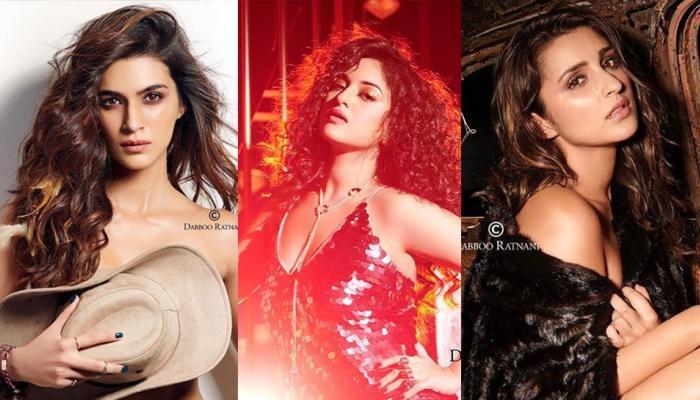 dabbu ratnani calendar 2018 kriti sanon goes topless Vidya Balan Hot Look