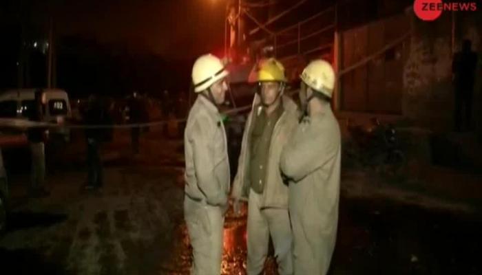 17 killed in fire at factories in Delhi's Bawana