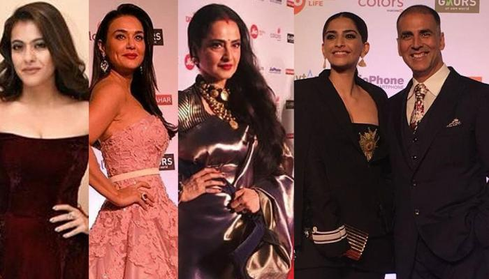 Filmfare 2018: from preity zinta to miss world manushi chhillar these star makes stylish entry on red carpet