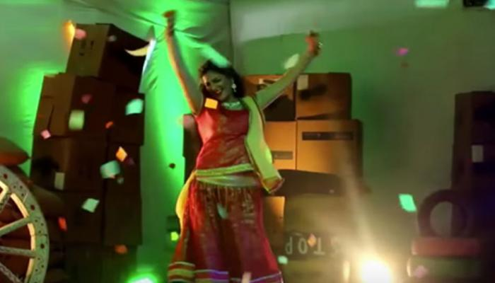 bigg boss ex contestant sapna choudhary is performing item song in bhojpuri movie