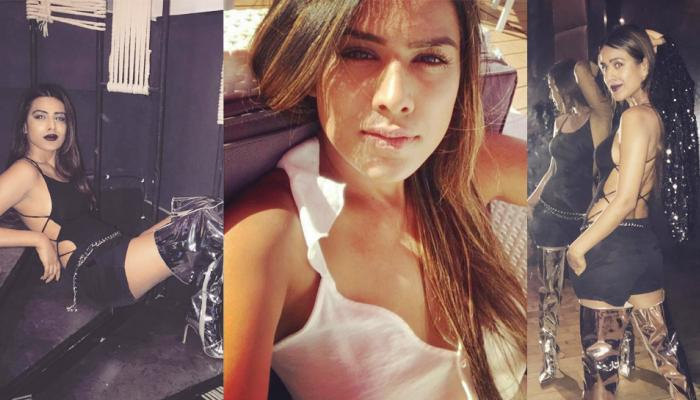 Never before seen such a glamorous look of Nia Sharma