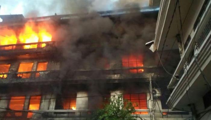 गुजरात: बड़ोदरा की एक फैक्ट्री में लगी आग, 4 मजदूरों की मौत