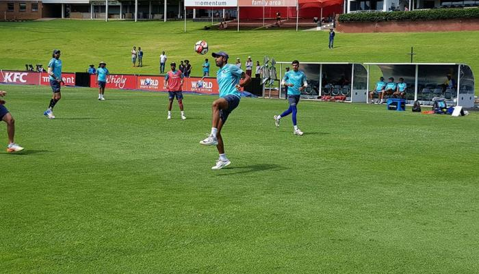 Team India trains hard at nets ahead Wanderers Stadium of 3rd Test