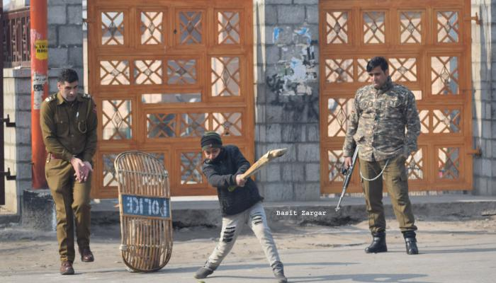 Once Stone pelters in Kashmir, now playing with security personnels