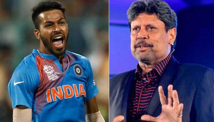 Hardik pandya should understand his responsibity to become all rounder like kapil dev